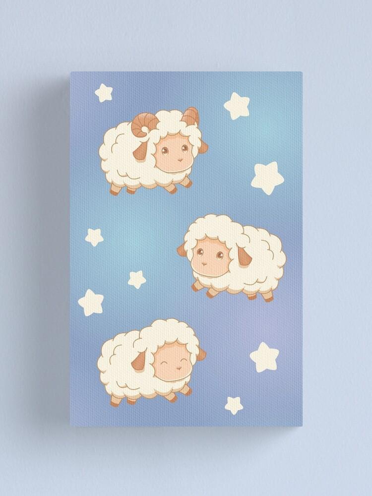 Alternate view of Cute Little Sheep Canvas Print