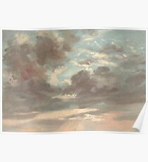 A Study of Clouds 1821 Poster