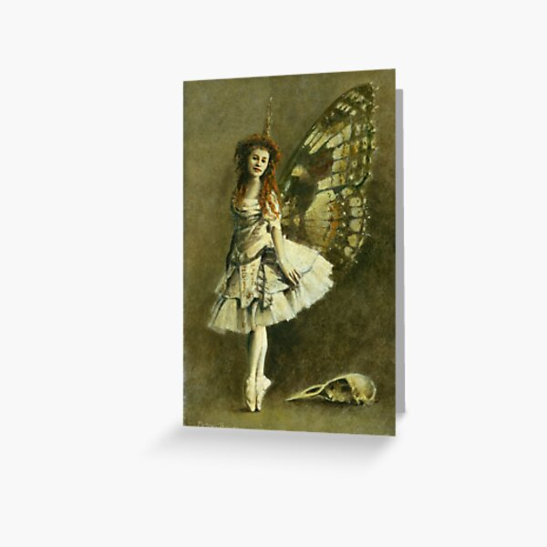 Victorian Gothic Fairy Greeting Card