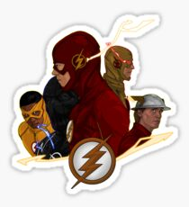 The Flash Season 1-3 Sticker