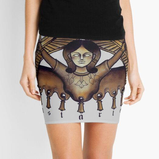 Tartessian Astarte Mini Skirt