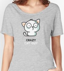 Crazy Cat Guy - Cats Women's Relaxed Fit T-Shirt