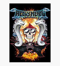 Heavy metal  Photographic Print