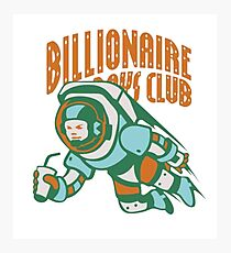 billionaire boys club Photographic Print