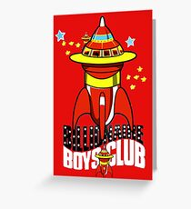 billionaire boys club  Greeting Card