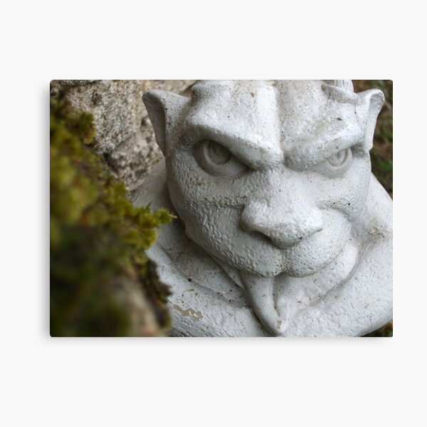 The Stone Troll Canvas Print