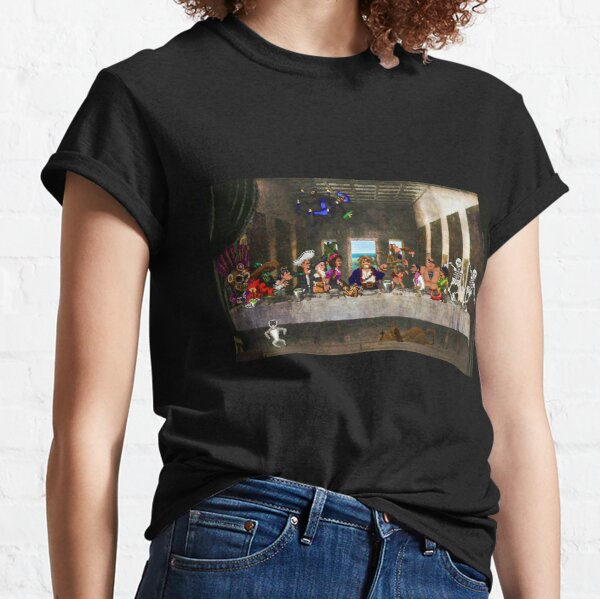 Last Monkey Island Supper - T-Shirts, Gadgets & Face Masks Classic T-Shirt