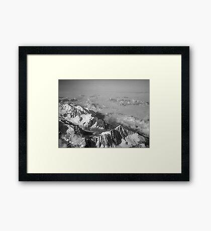 Murmurs of the Matterhorn Framed Print