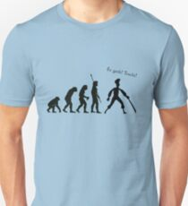 Evolution of insult swordfighting T-Shirt