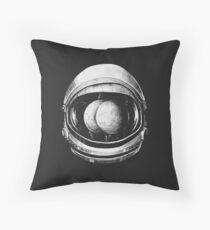 Asstronaut Throw Pillow