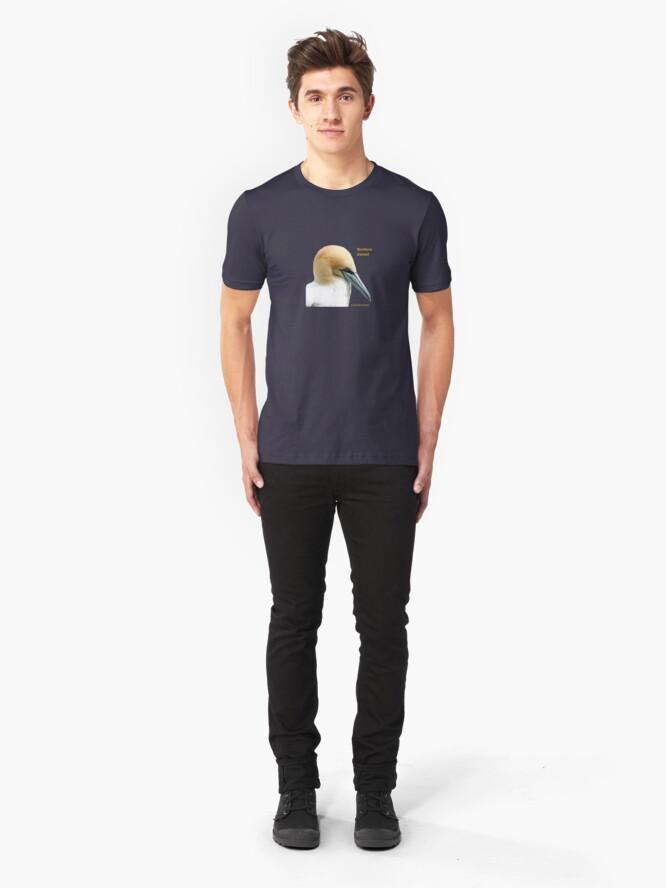 Alternate view of Northern Gannet Slim Fit T-Shirt