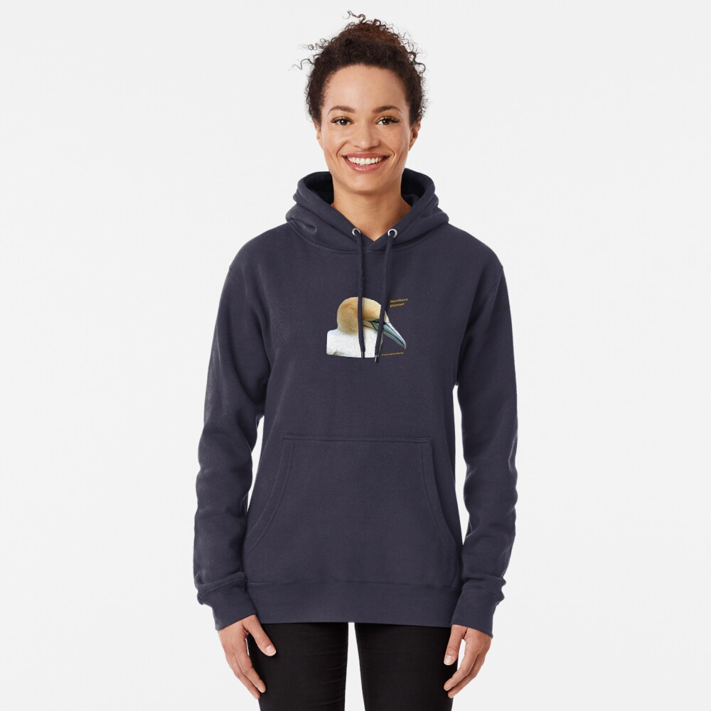 Northern Gannet Pullover Hoodie