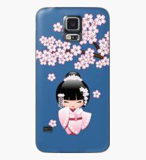 Japanese Bride Kokeshi Doll Case/Skin for Samsung Galaxy