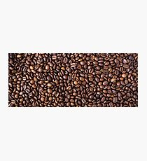 Brown Roast Coffee Beans Photographic Print