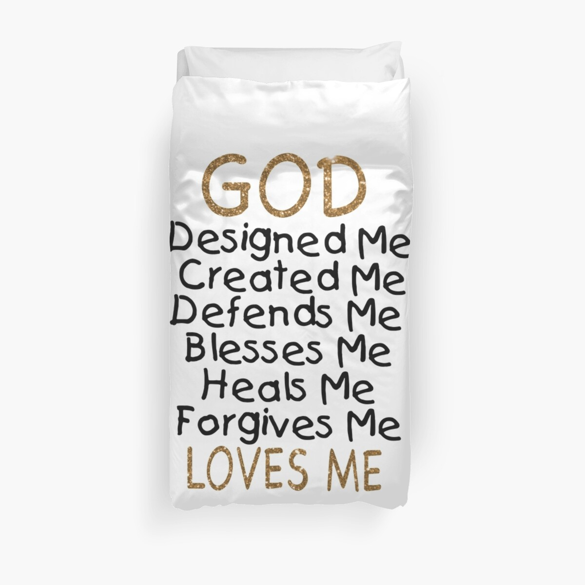 Baby Shower Gifts/Baptism Gifts/Christening Gifts - Best Cute Gift for New Baby, Him, Her, Men, Women, Son, Daughter, Kids - God Loves Me