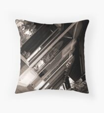 Shops on Front  Throw Pillow