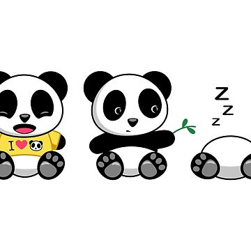 Cute Little Pandas by chibibikun