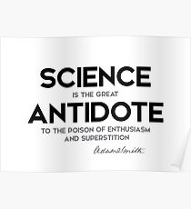 science antidote - adam smith Poster