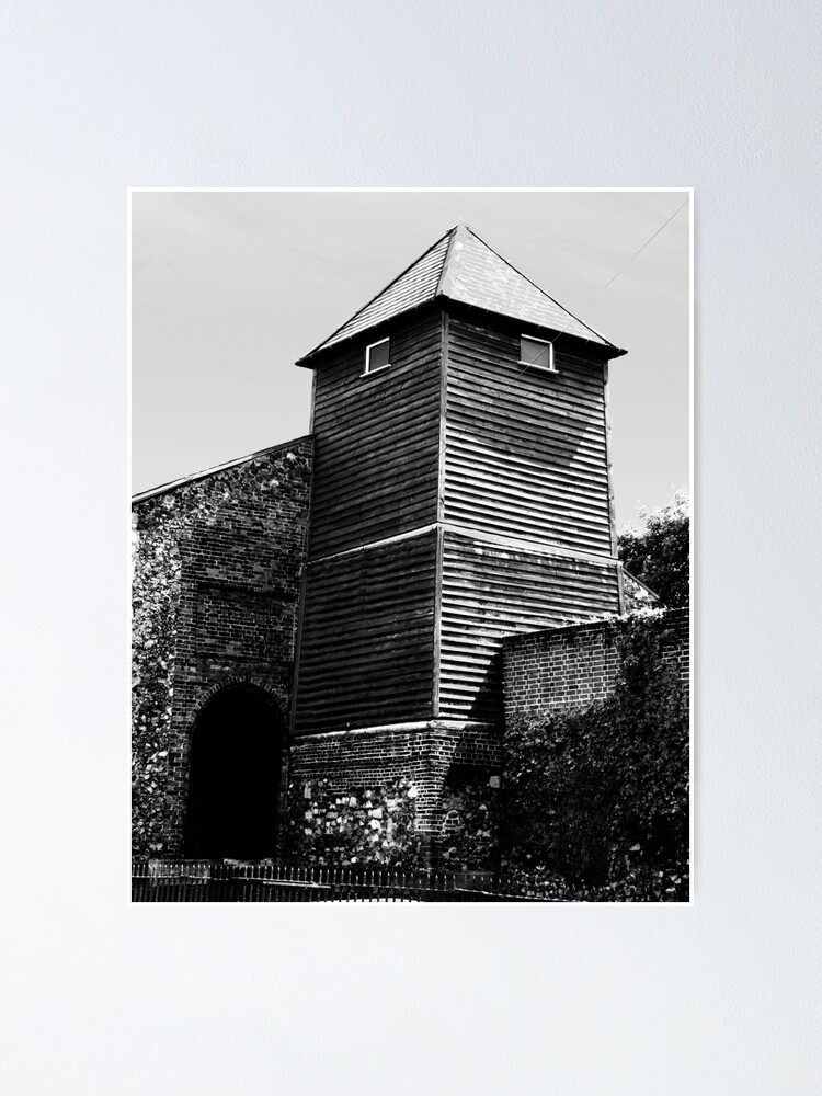 Alternate view of St Giles Church, Colchester Poster