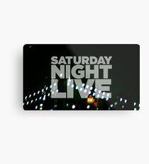 Saturday Night Live Shirt Metal Print