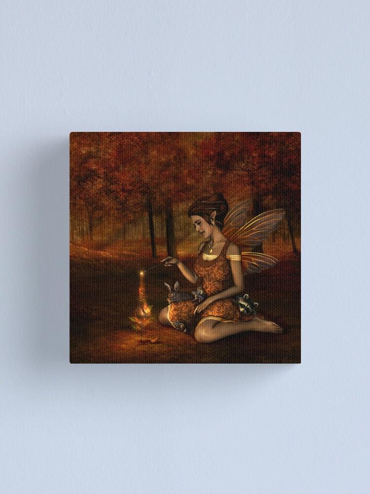 Alternate view of Autumn Sprite  Canvas Print