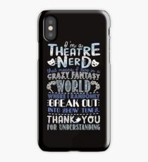 Theatre Nerd iPhone Case/Skin