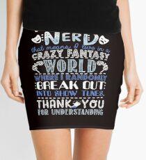 Theatre Nerd Mini Skirt