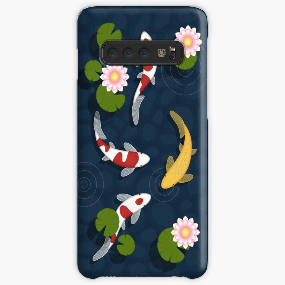 Japanese Koi Fish Pond Case & Skin for Samsung Galaxy