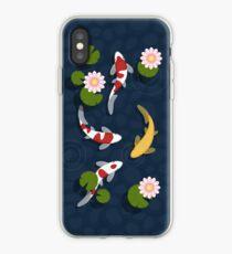 Japanese Koi Fish Pond iPhone Case