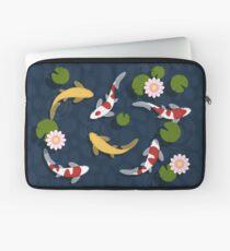 Japanischer Koi Fischteich Laptoptasche