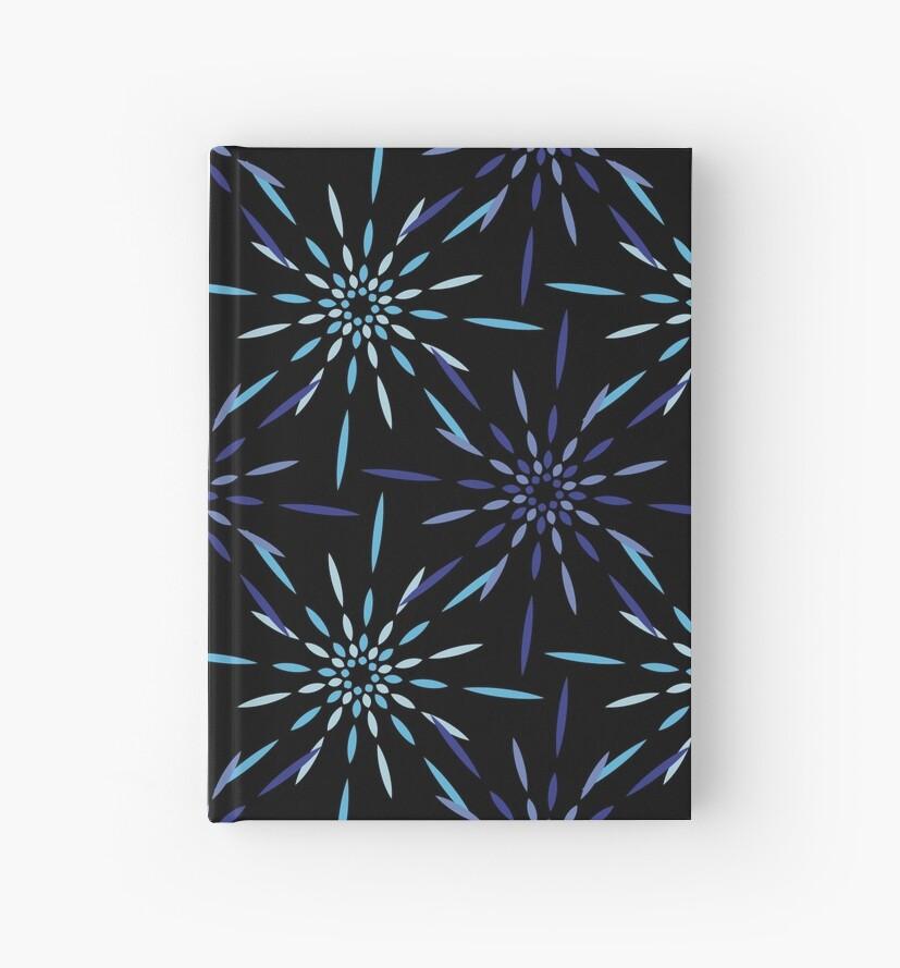 « feu d'artifice bleu, nuit d'hiver » par Omelia-Plude