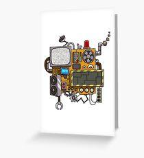 Machine Greeting Card