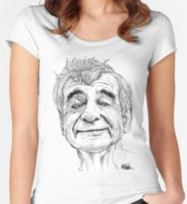 Walter Matthau Women's Fitted Scoop T-Shirt