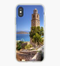 Stone Clock Tower iPhone Case