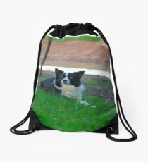 "Beautiful Alley"""" Drawstring Bag"