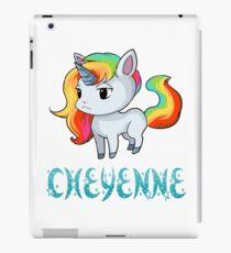 Cheyenne Unicorn Sticker iPad Case/Skin