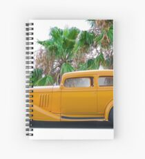 1933 Pontiac Deluxe 8 Touring Sedan 'Profile' II Spiral Notebook