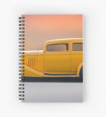 1933 Pontiac Deluxe 8 Touring Sedan 'Profile' I Spiral Notebook