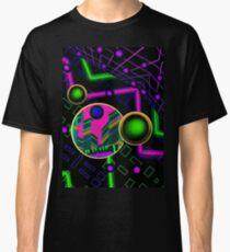 neon techno atlantis stargate Classic T-Shirt