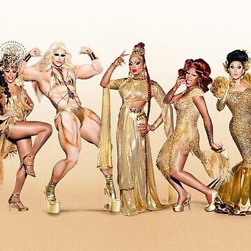 Rupaul's Drag Race All Stars 3 Cast  by memekween