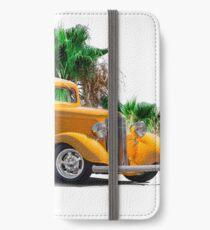 1933 Pontiac Deluxe 8 Touring Sedan III iPhone Wallet/Case/Skin