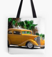 1933 Pontiac Deluxe 8 Touring Sedan III Tote Bag