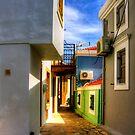 Chalki Alleyway by Tom Gomez