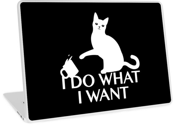 funny cat gifts i do what i want best cute gift for him her
