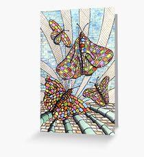 227 - BRICKERFLIES – WATERCOLOUR, INK & PENCIL -  Greeting Card