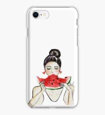 One in a melon iPhone Case/Skin