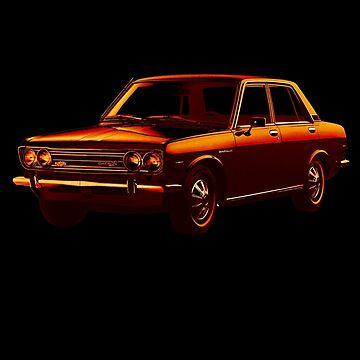 Datsun 510 1600 1969 _tone02 by DatsunStyle