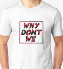 Why Dont We Music - Red Camo T-Shirt