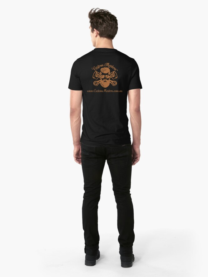 Alternate view of Copper Custom Masters Slim Fit T-Shirt