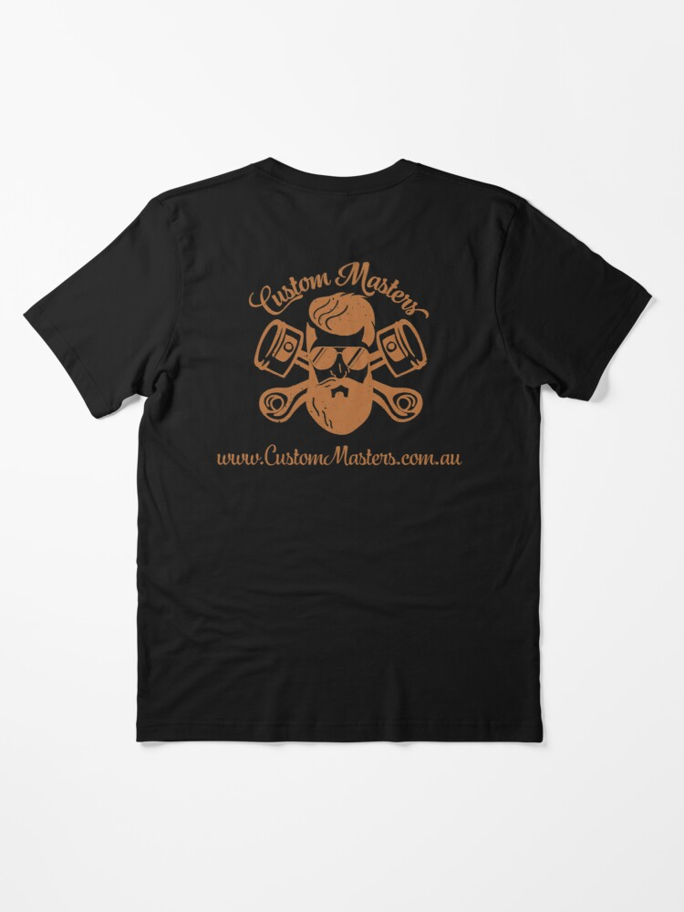 Alternate view of Copper Custom Masters Essential T-Shirt